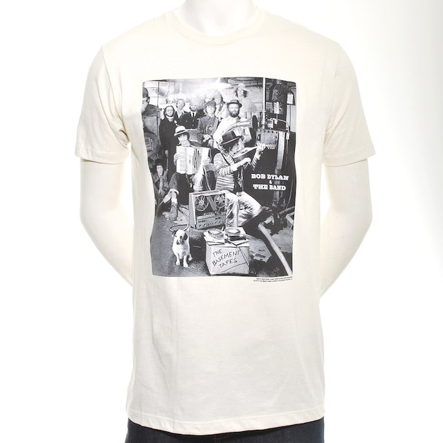 The Band B&W DYLAN BASEMENT TAPES T-SHIRT