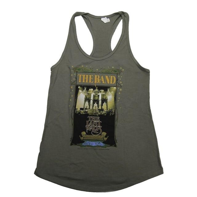 The Band Women's The Last Waltz Concert Hall Racerback Tank