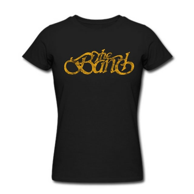 The Band Women's Classic Curves Distressed Logo T-Shirt