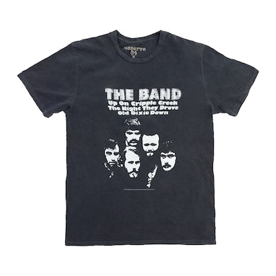 The Band Up on Cripple Creek Distressed T-shirt