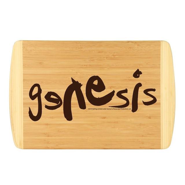 Genesis Modern Logo Laser Engraved Large Bamboo Cutting Board