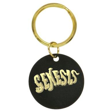 Genesis 80s Logo Brass Keychain