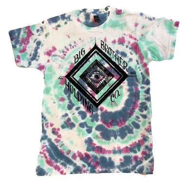 Big Brother And The Holding Company Tie-Dye Eye T-Shirt