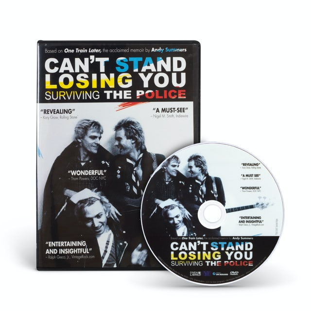 The Police Can't Stand Losing You [DVD]