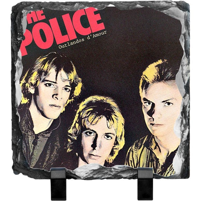 The Police Outlandos d'Amour Photo Slate