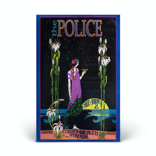 "The Police ""The Police - Commonwealth Stadium""  Bob Masse Litho"