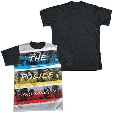 The Police Synchronicity White Logo