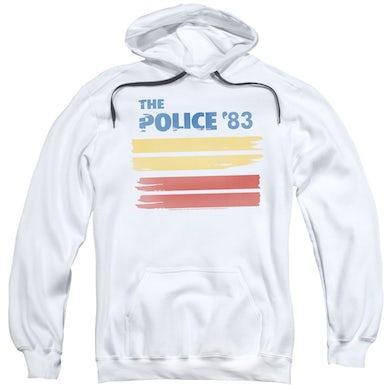 The Police 83 White Logo