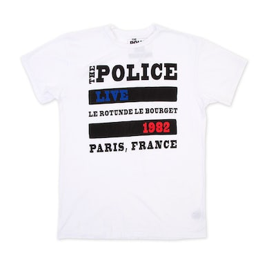 The Police Live in Paris T-shirt