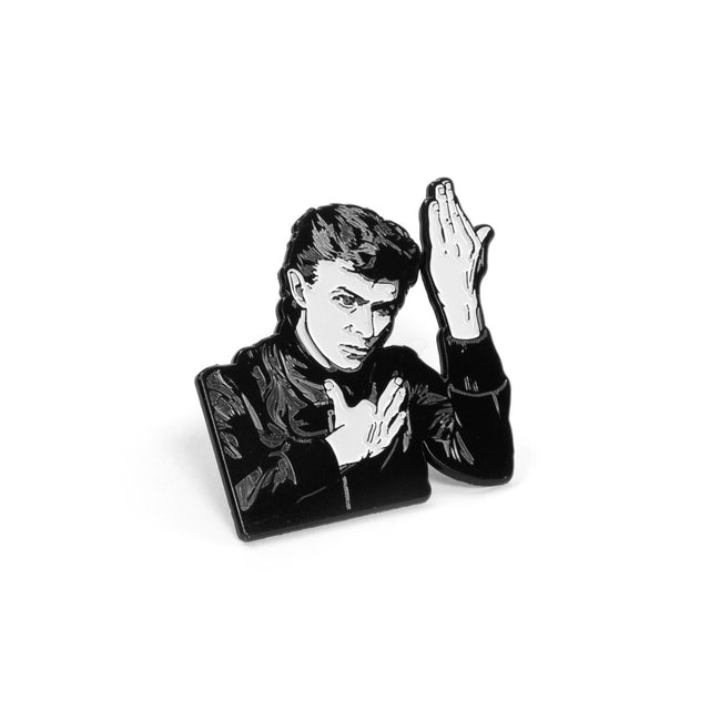 """David Bowie """"Heroes"""" Album Cover Pin"""