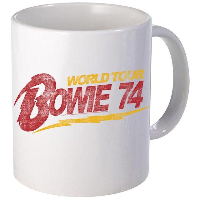 David Bowie Bowie '74 World Tour Mug