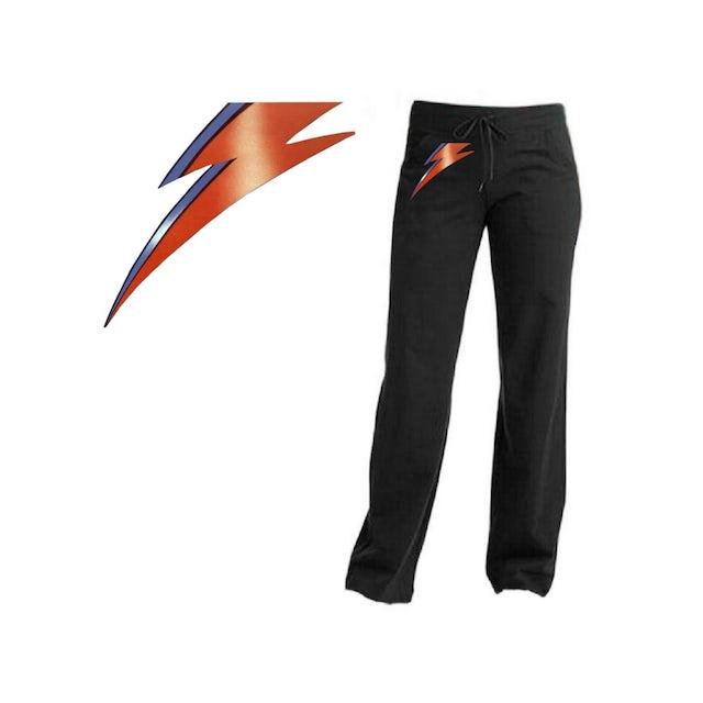 David Bowie Aladdin Sane Lightning Bolt Yoga Pants