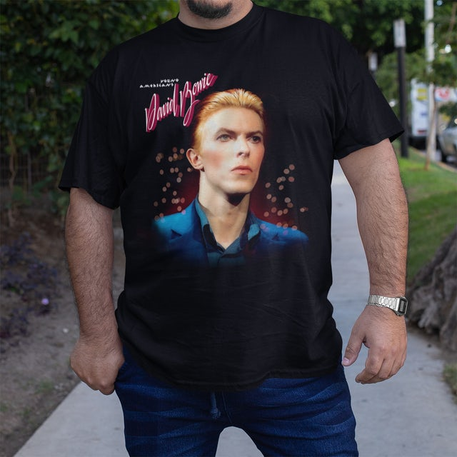 David Bowie Young Americans 45th Anniversary T-shirt