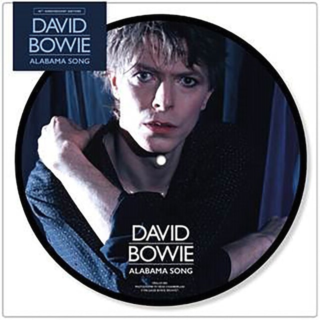 """David Bowie Alabama Song 40th Anniversary LP (7"""" Picture Disc) (Vinyl)"""