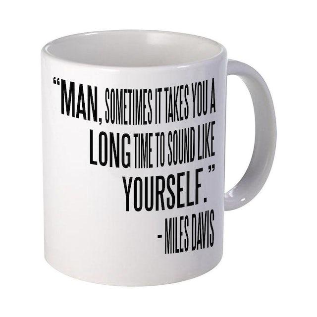 Miles Davis Sound Like Yourself Mug