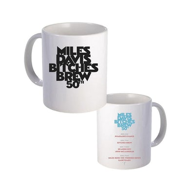 Miles Davis Bitches Brew 50 Ceramic Mug