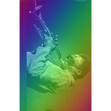 Miles Davis Rainbow Profile Print