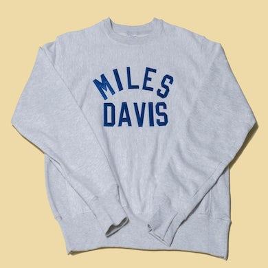 Miles Davis Crewneck Grey Sweatshirt