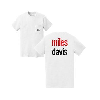Miles Davis Cool White Pocket Tee