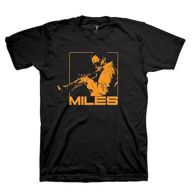 Miles Davis Shades Of Miles T-Shirt: Orange