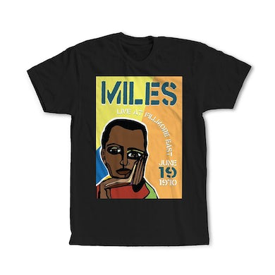 Miles Davis Miles Live at the Fillmore East 50th Anniversary Cubism Poster T-Shirt