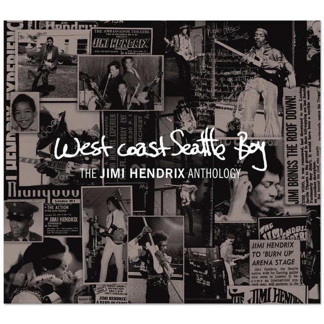 West Coast Seattle Boy: The Jimi Hendrix Anthology (Collectors Edition) CD