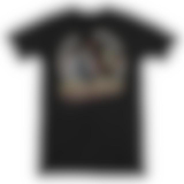 Jimi Hendrix Hollywood Bowl Black Ringer T-Shirt