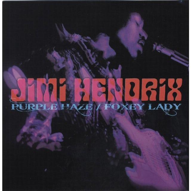 "Jimi Hendrix Threads + Grooves (Purple Haze B/W Foxey Lady) 7"" LP (Vinyl)"
