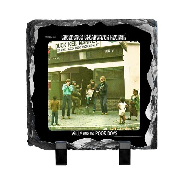 Creedence Clearwater Revival Willie & The Poor Boys Photo Slate