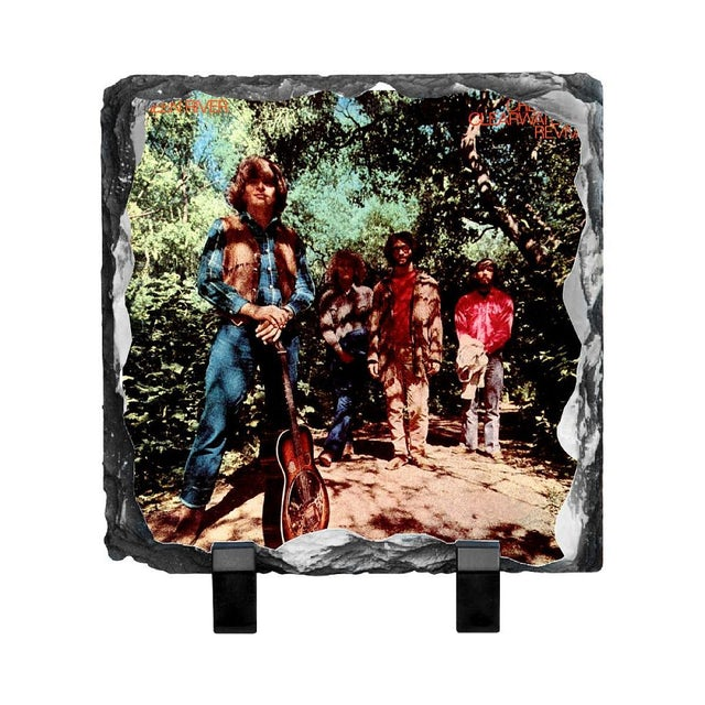 Creedence Clearwater Revival Green River Photo Slate