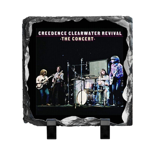 Creedence Clearwater Revival In Concert Photo Slate