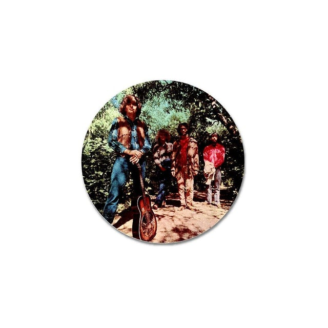 Creedence Clearwater Revival Green River Button