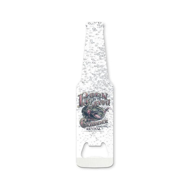 Creedence Clearwater Revival Bayou Gator Bubbles Bottle Opener