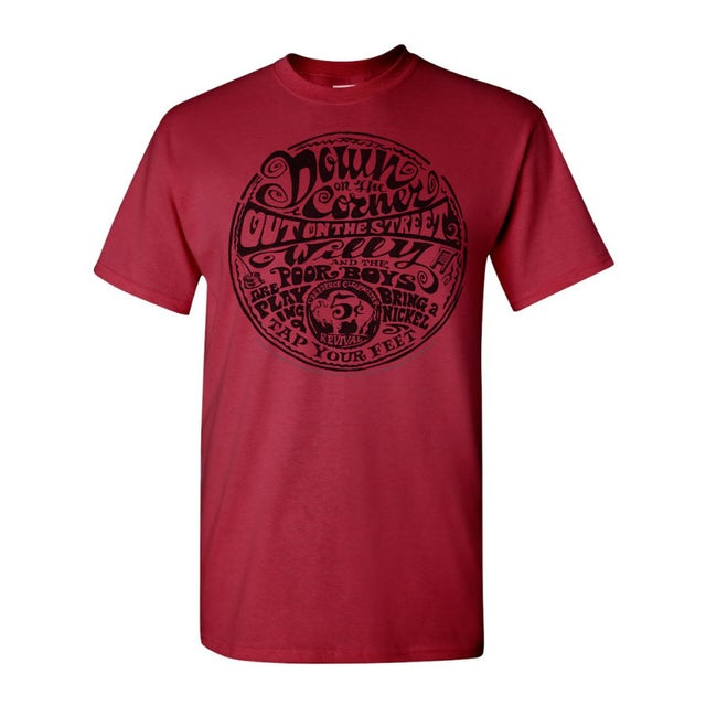 Creedence Clearwater Revival Down On The Corner Lyrics T-Shirt