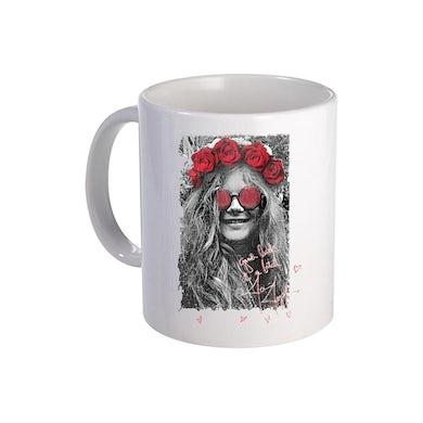 Janis Joplin Good Luck Ceramic Mug