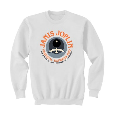 Janis Joplin Festival Express 1970 Sweatshirt