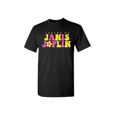 Listen To Janis Joplin Daisy T-Shirt