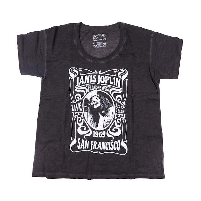 Janis Joplin Fillmore San Francisco Poster T-shirt