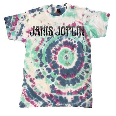 Janis Joplin Tie-Dye Logo T-Shirt