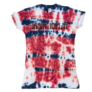 Janis Joplin Tie-Dye Logo Women's T-Shirt