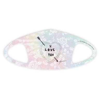 Janis Joplin Love Face Mask