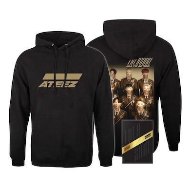 ATEEZ Treasure A Ver. Package Black Edition & Hoodie Bundle