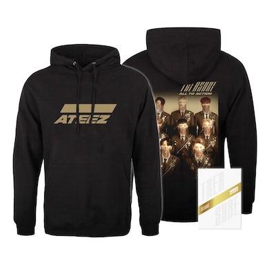 Ateez Treasure Z Ver. Package White Edition & Hoodie Bundle