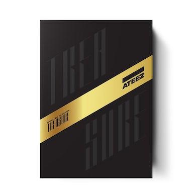 ATEEZ Treasure A Ver. Album Package Black Edition