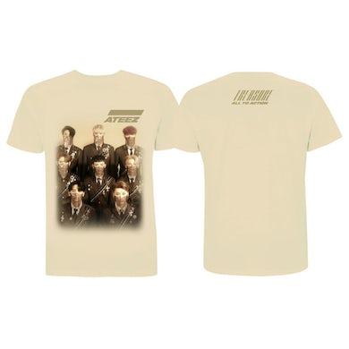 ATEEZ Treasure Men's Tan T-shirt