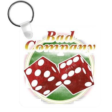 Bad Company Straight Shooter Keychain
