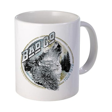 Bad Company Wolf Tour 76 Mug