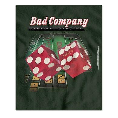 Bad Company Straight Shooter Fleece Blanket