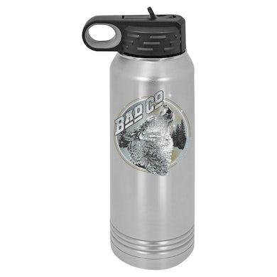 Bad Company Wolves Polar Camel Water Bottle