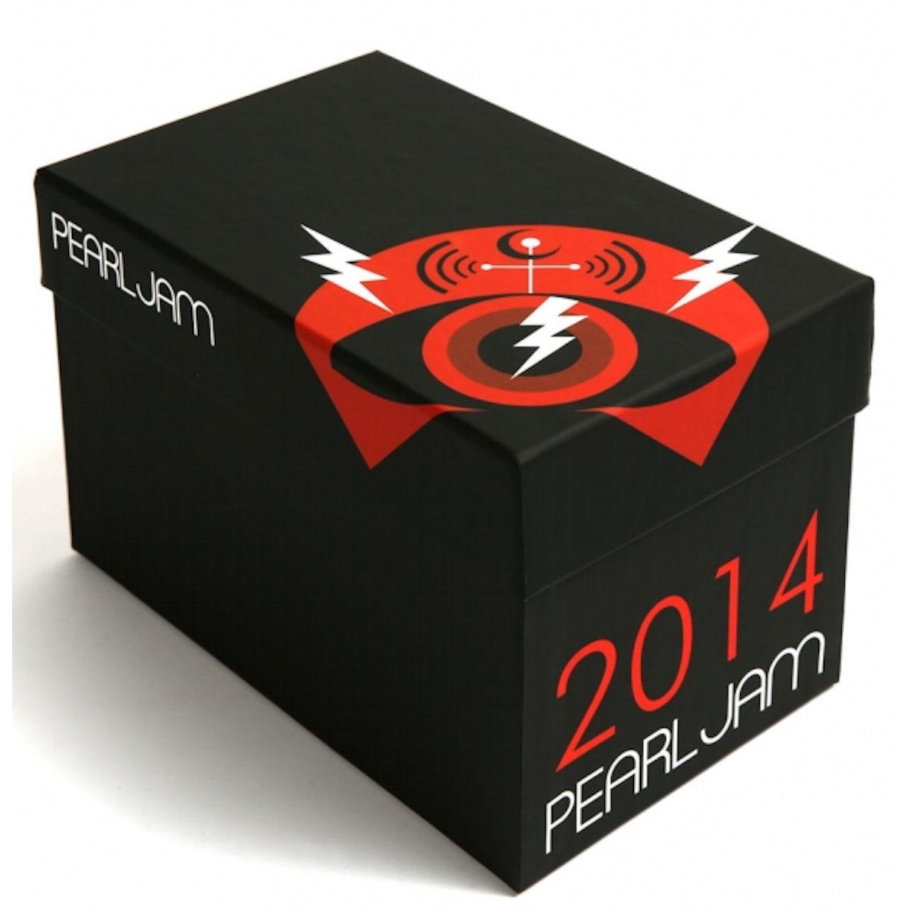 Pearl Jam 2014 Bootleg CD Box Set